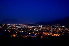 Monterrey nocturno. (myrmardan) Tags: night mexico abend noche explore nuevoleon noite mexique nuit monterrey mexiko messico allthebest  mekishiko canon400d
