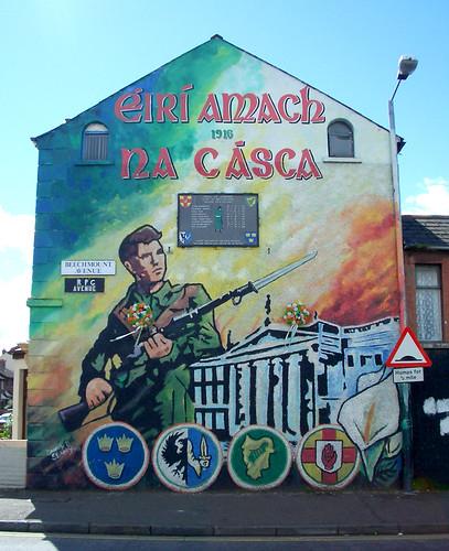 Wandbild mural Osteraufstand Easter Rising Dublin 1916 - IRA