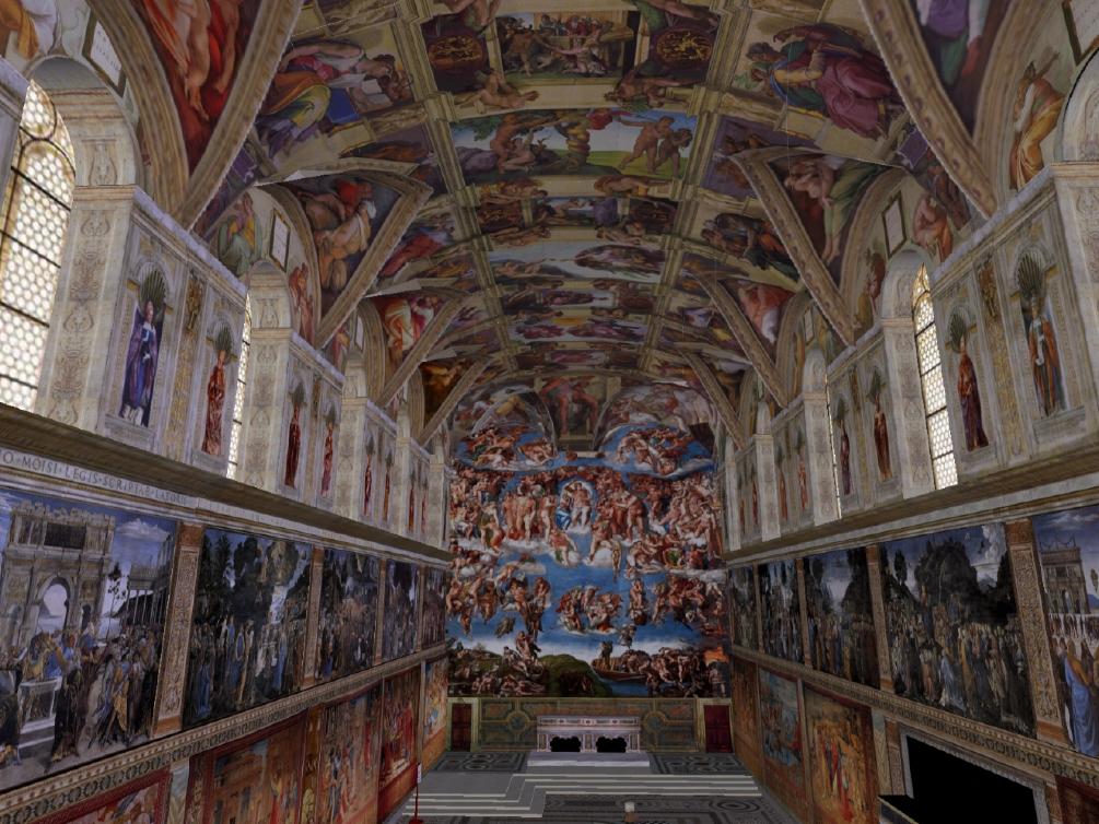 Sistine Chapel Re-Creation, Vassar SIM
