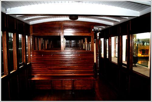 interior de un vagón de tercera
