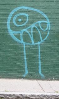 graffiti critter