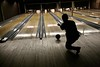 perfect form. ish. (sgoralnick) Tags: silhouette brooklyn bowling phillip bowlingalley greenpoint thegutter phillipckim
