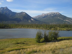 A photo taken in Jasper National Park (jimbob_malone) Tags: alberta 2007 highway16 greyhoundbus