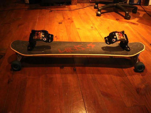 I mounted randal R2 180mm, kripto wheels and k1series binding and the board