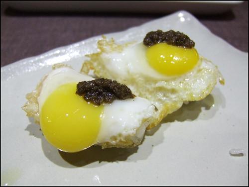Kabuki Wellington - Quail Egg sushi