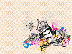 King of Mustaches Wallpaper