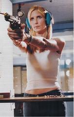 Ann Coulter fires gun
