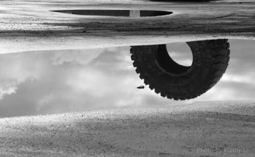 The wheel of oil sands