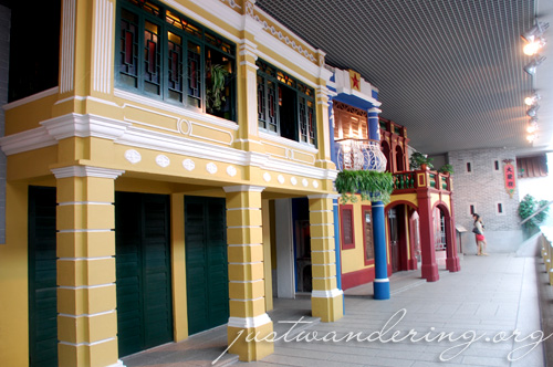 Inside the Macau Museum