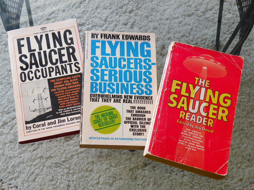 Flying Saucer Paperbacks
