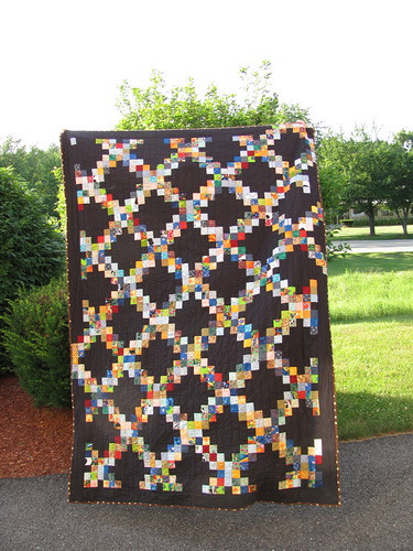 Scrapendipity Designs » Scrappy Irish Chain Quilt Pattern (Tutorial) : irish chain quilt tutorial - Adamdwight.com