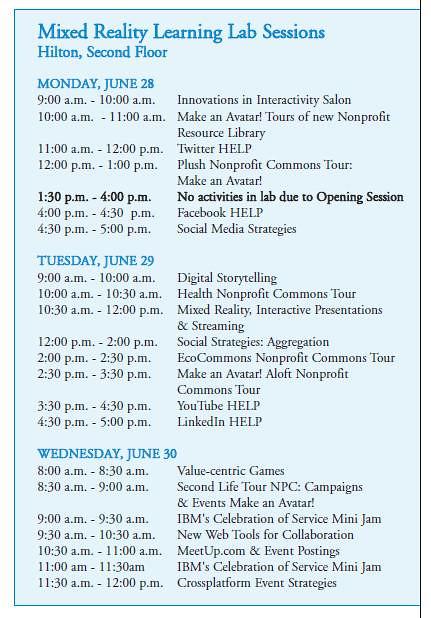 NCVS Schedule