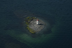 Lighthouse (wilhelmja) Tags: lighthouse oslo aerial fyr oslofjorden fyrlykt