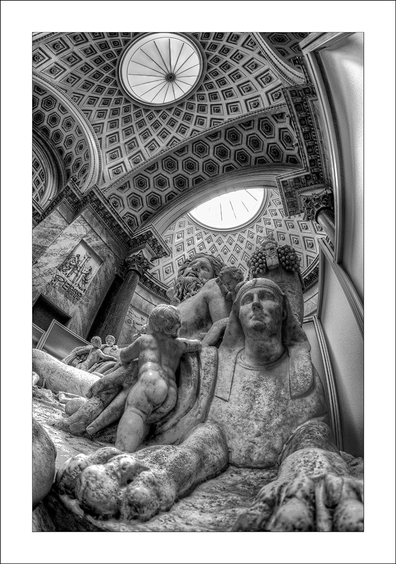 Roma - Museos Vaticanos - La esfinge