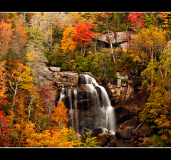 Upper Whitewater Falls (JLMphoto) Tags: color leaves landscape waterfall whitewater north falls carolina jlmphoto tpslandscape