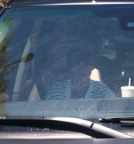 justin bieber driving his car. Justin Bieber#39;s ex-GF Caitlin