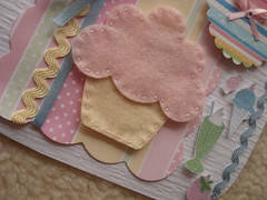 Detalhe do feltro.... (Lucy Gifts) Tags: scrapbooking feltro bigshot sissiz