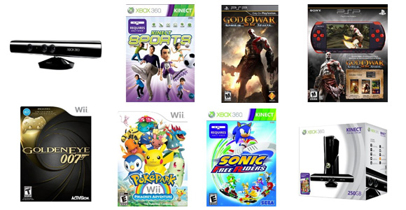 Week of November 1, 2010 game releases