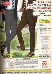 the 1960s-ad for Tergal trousers (april-mo) Tags: vintage ads trousers 1963 vintagead the1960s tergal 1960sad vintagetrousers adfortergaltrousers manufrancestetienne vintagefashionformen