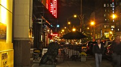 West Washington St., Indianapolis at night (ellenm1) Tags: urban night hotel indianapolis cities conrad carsons pennstation washingtonstreet