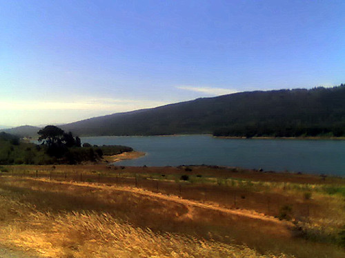 Upper Crystal Springs Reservoir