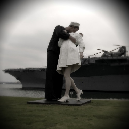 The Kiss at Midway