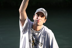 more Manu!  (Spurs parade 18) (jmtimages) Tags: party argentina basketball june sanantonio outdoors spurs downtown texas parade celebration athlete nba riverwalk 2007 sanantoniospurs manuginobili worldchampions