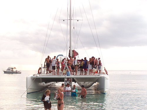 Catamaran at Couples, Negril