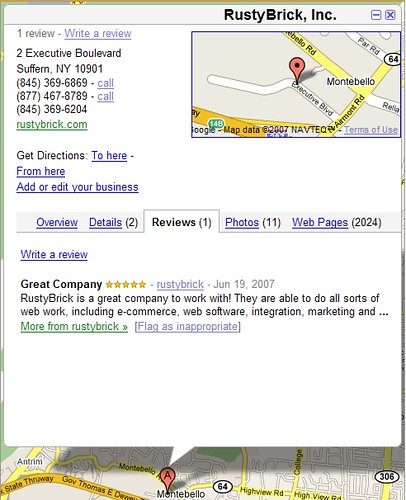 Google Maps: User Generated Content