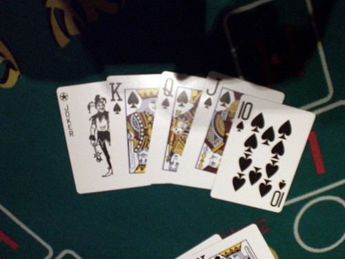 Royal Flush in Pai Gow Poker
