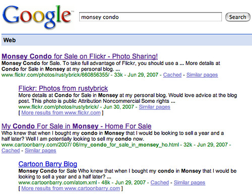 my monsey real estate listings in google