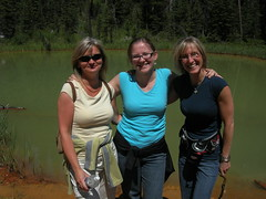 Mountain trip - July 2007 (monkeys with tails) Tags: park friends mountains michelle alberta monika banff milena 2007