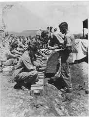 Prayer Before Patrol - Saipan (afigallo) Tags: usmc war pacific wwii ww2 marines saipan