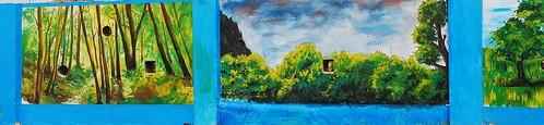 Painting on Chennai Wall -2
