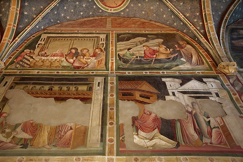 Frescoes in the church and the cloister of the Dominicans Fraternity - Bolzano