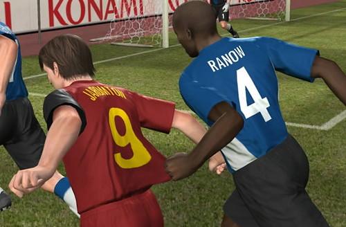 Pro evolution Soccer 2008 faltas