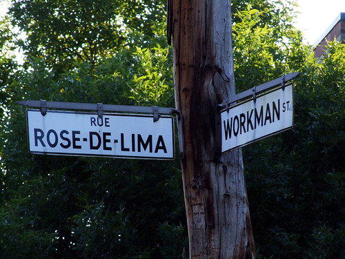 Montreal Street Names French Street Names And an