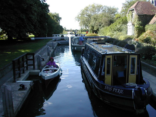 Waiting in Grafton Lock