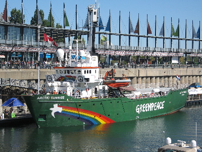 Greenpeace Ship, Montreal