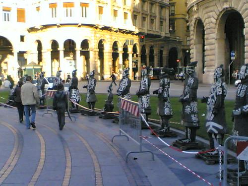 Piazza De Ferrari verso via XX settembre