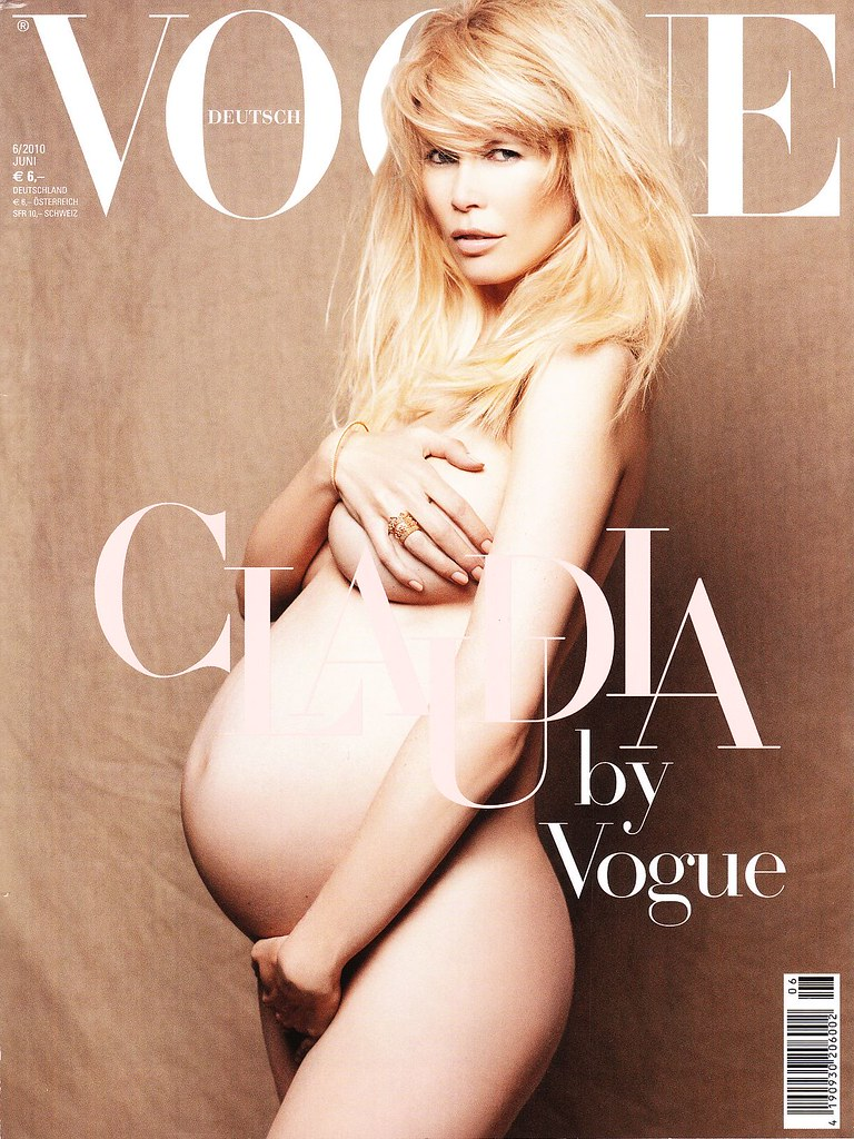Claudia Schiffer x Vogue Deutsch