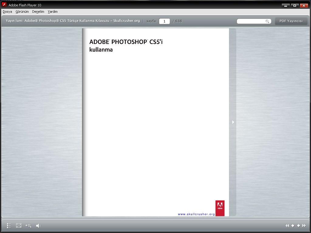 Photoshop CS5 Türkçe Kullanma Kılavuzu (631 sf.)