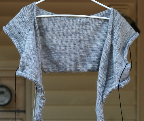 WIP- Effortless Cardigan