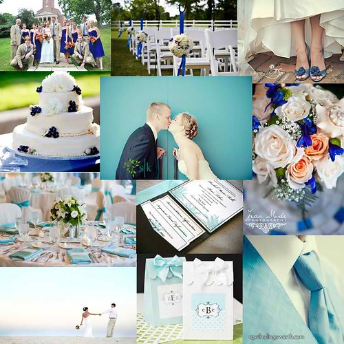 Blue-White Inspiration Board