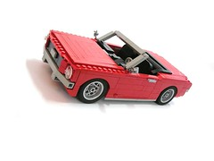 1964 Ford Mustang Convertible (Dohoon Kim) Tags: ford scale car lego muscle large first convertible pony mustang 1964