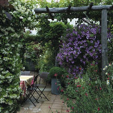сад на крыше с видом на париж 2