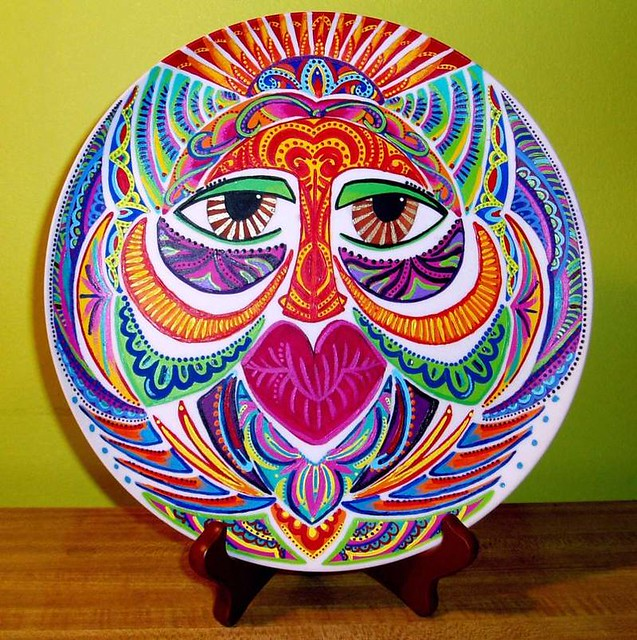 Amanda Diva - Mask on Plate by Old-Soulz