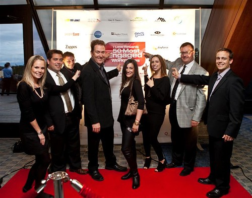 The team at the I Love Rewards Gala