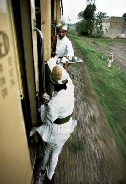 印度火車的廚師
