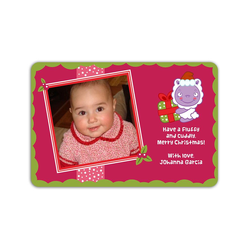 20 Christmas Sheep and Holiday Gift Photo Cards